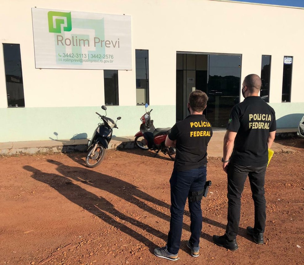 Operação Fundo Fake é realizada pela PF em cinco estados — Foto: PF/Divulgação