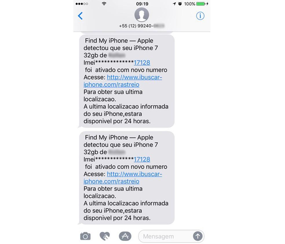 Criminosos aplicam golpes por meio de SMS falsa para roubar Apple ID de iPhone roubado (Foto: Anna Kellen Bull/TechTudo)