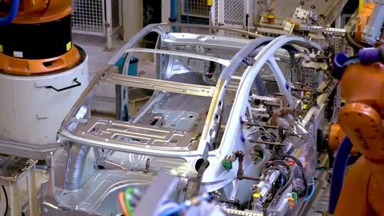 Volkswagen mostra como é produção do Virtus