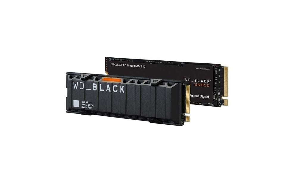 SN850 é o representante com PCIe 4.0 e muito mais velocidade da lista — Foto: Divulgação/Western Digital