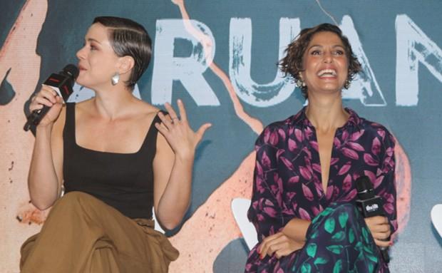 Leandra Leal e Camila Pitanga (Foto: Brazil News / Amauri Nehn)