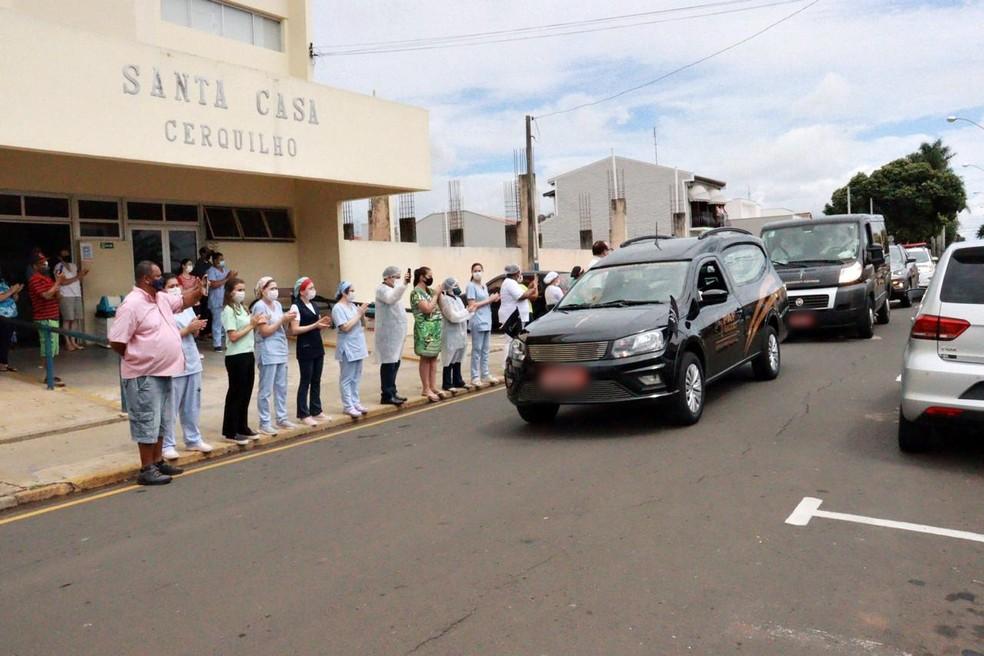 Médico de 57 anos morre após complicações da Covid-19 — Foto: Prefeitura de Cerquilho/Divulgação