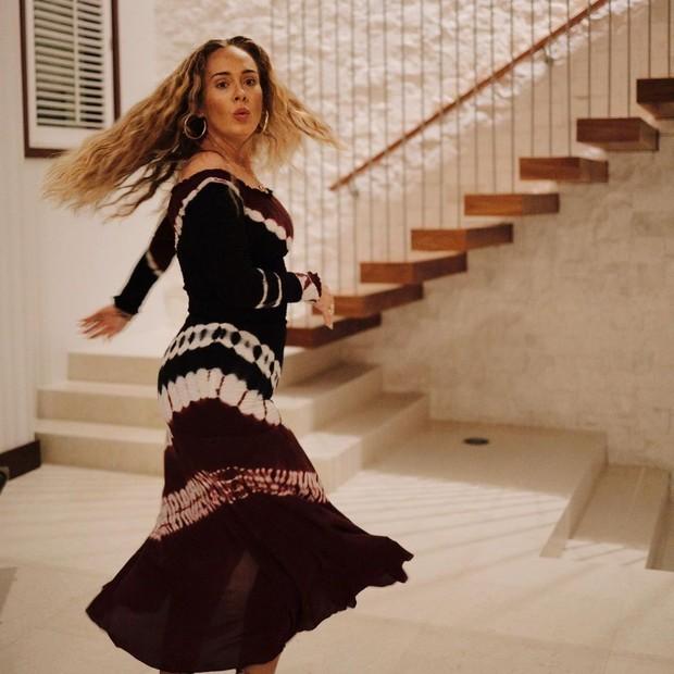 Adele (Foto: Reprodução Instagram)