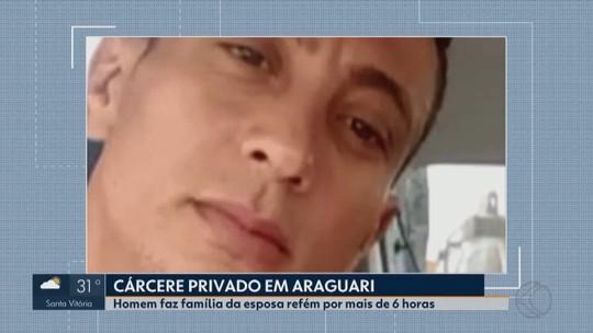 Ex-presidiário faz família da esposa refém em Araguari por não aceitar separação