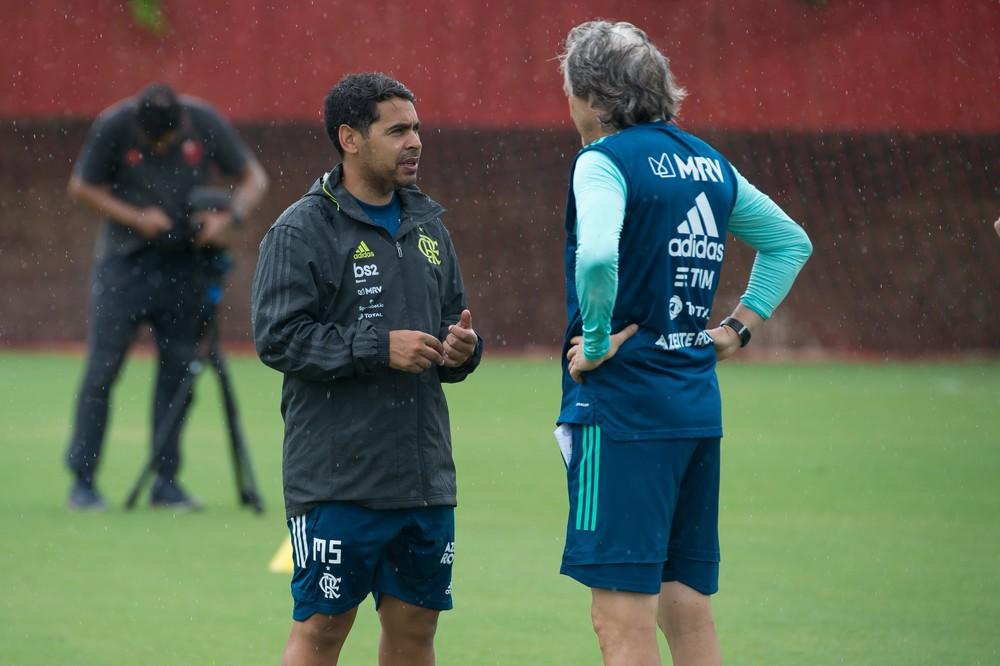 Flamengo deve usar aplicativo para ajudar elenco e Jorge Jesus durante a quarentena