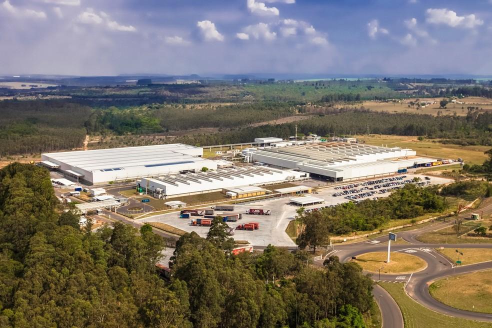 Fábrica da Volkswagen em São Carlos — Foto: Divulgação