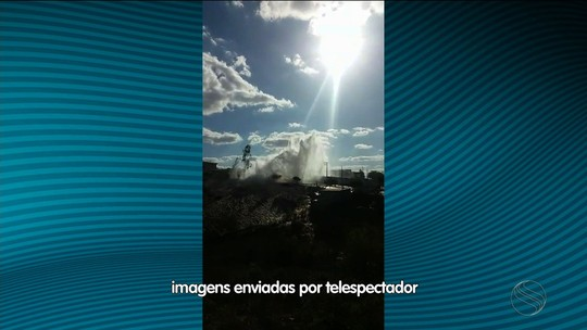 Rompimento de adutora deixa municípios sergipanos sem água