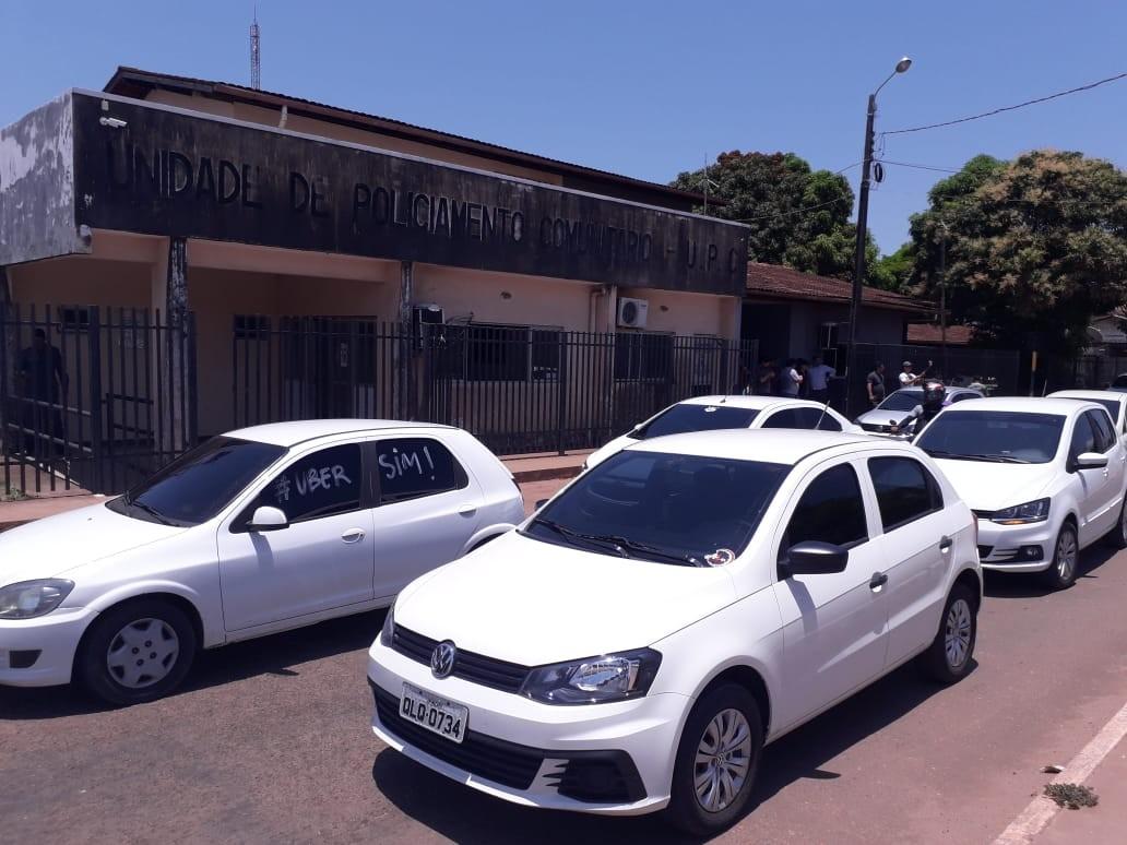 Motoristas de aplicativo no Amapá denunciam e protestam contra agressões de taxistas - Notícias - Plantão Diário