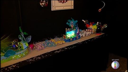 'Espaço Cultural' da Inter TV em Nova Friburgo recebe exposição sobre o Carnaval