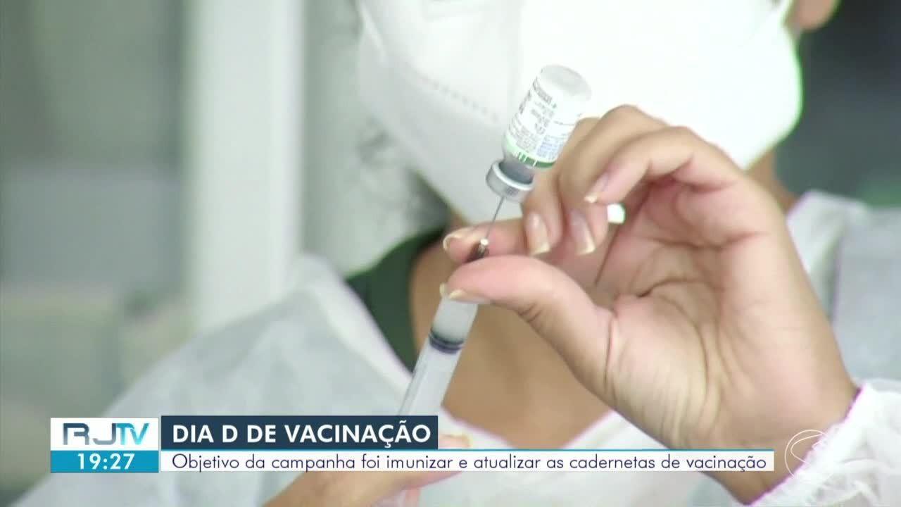Campanha de multivacinação contra poliomielite teve dia D neste sábado