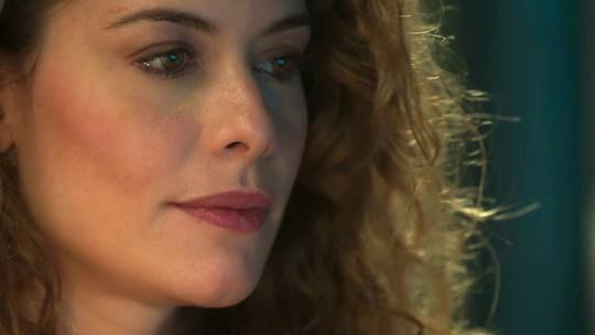 Isabel, personagem de Alinne Moraes, dá sentença: 'Você nunca vai me esquecer, Alain'