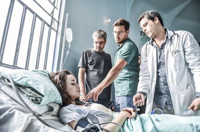 Gravações de 'Sob pressão' (Foto: Maurício Fidalgo/ TV Globo)