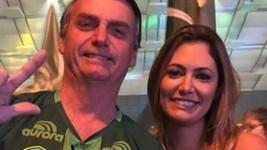Michelle faz 39 anos hoje longe de Bolsonaro (Reprodução)