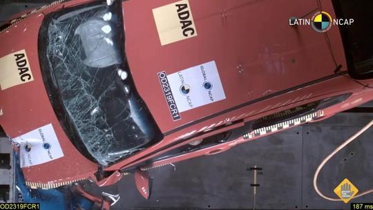 Fiat Argo e Cronos levam 3 estrelas em teste de colisão do Latin NCap