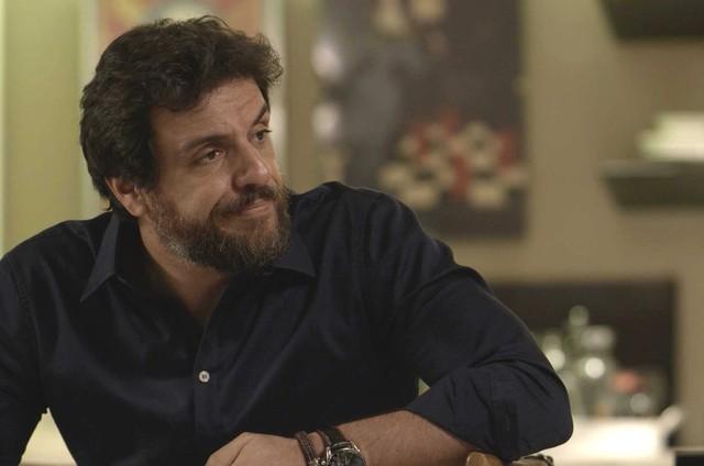 Rodrigo Lombardi, o Caio de 'A força do querer' (Foto: TV Globo)