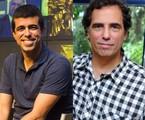 Marcius Melhem e Maurício Farias | TV Globo