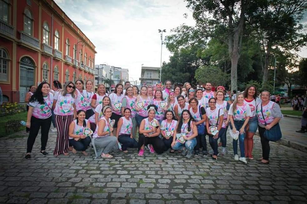 Banda 'Maria Vem com as Outras' aconteceu nesta sexta-feira (14)   — Foto: Divulgação