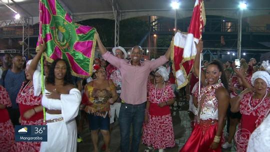 Mangueira e Estácio fazem encontro emocionante na Cidade do Samba