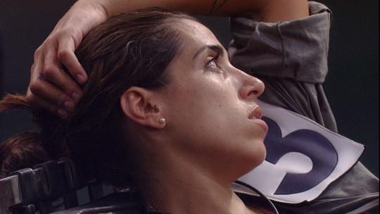 Juliana alerta Maria Claudia: 'Estou no meu limite'