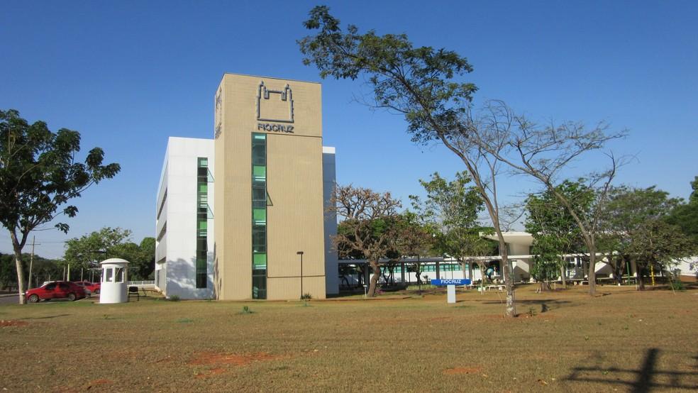Prédio da Fiocruz em Brasília (Foto: Raquel Morais/G1)