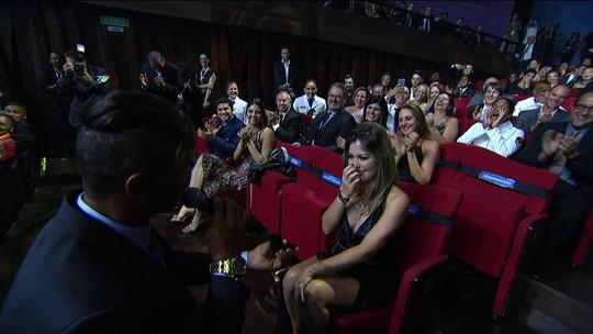 Noivo Isaquias e Rafaela Silva são os vencedores do Prêmio Brasil Olímpico