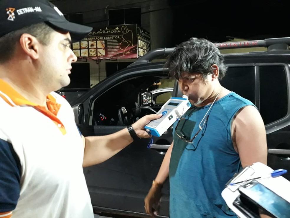 22 motoristas foram flagrados dirigindo sob efeito de bebida alcoólica em Manaus — Foto: Divulgação/DETRAN