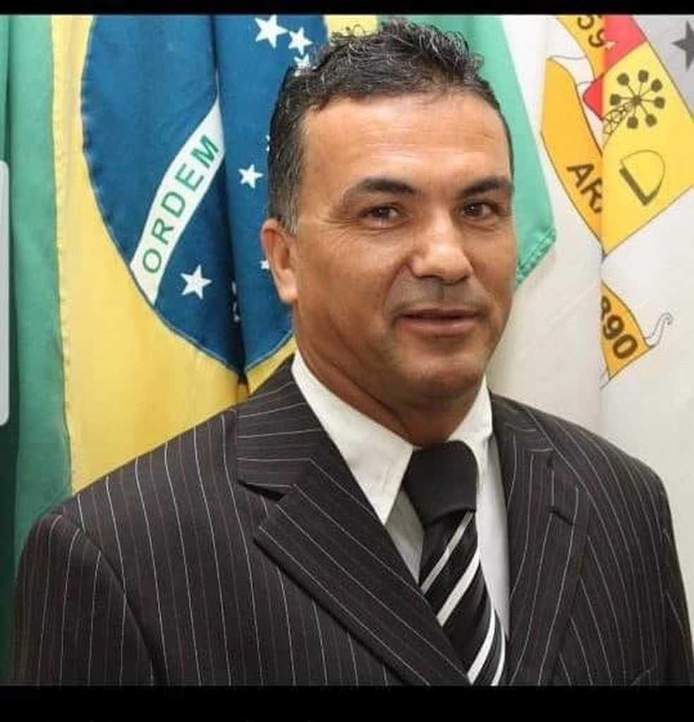 Vereador Ciraldo Fernandes da Silva (DEM), de Araruama, foi morto neste domingo (8).  — Foto: Reprodução