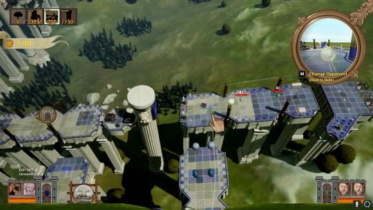 Assista ao gameplay estendido de 'Rock of Ages 2' com Tiago Leifert
