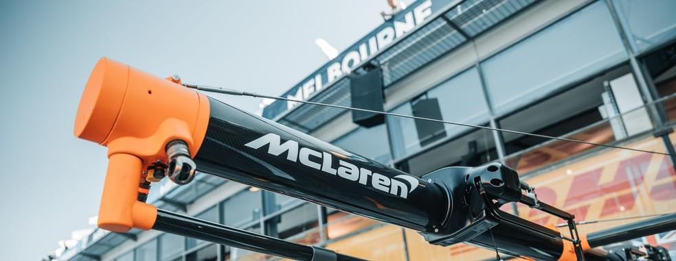 McLaren desistiu do GP da Austrália após funcionário testar positivo para coronavírus — Foto: Divulgação