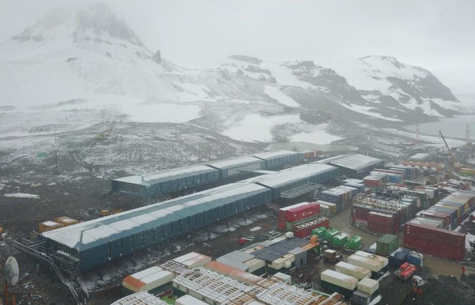 Marinha prevê inaugurar estação na Antártica em 2020, oito anos após incêndio