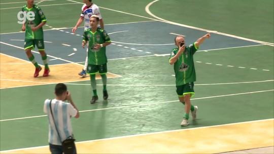 Em jogo quente, Campo Largo empata com Itabaiana pela Copa Nordeste de futsal; veja os gols