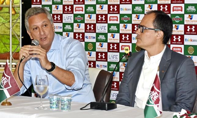 Marcus Vinicius Freire é o braço direito de Pedro Abad na hierarquia do Fluminense