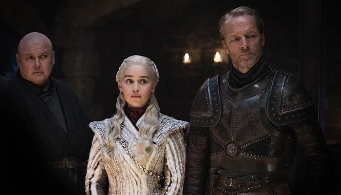 Varys, Daenerys e Jorah aparecem juntos (Foto: Divulgação)