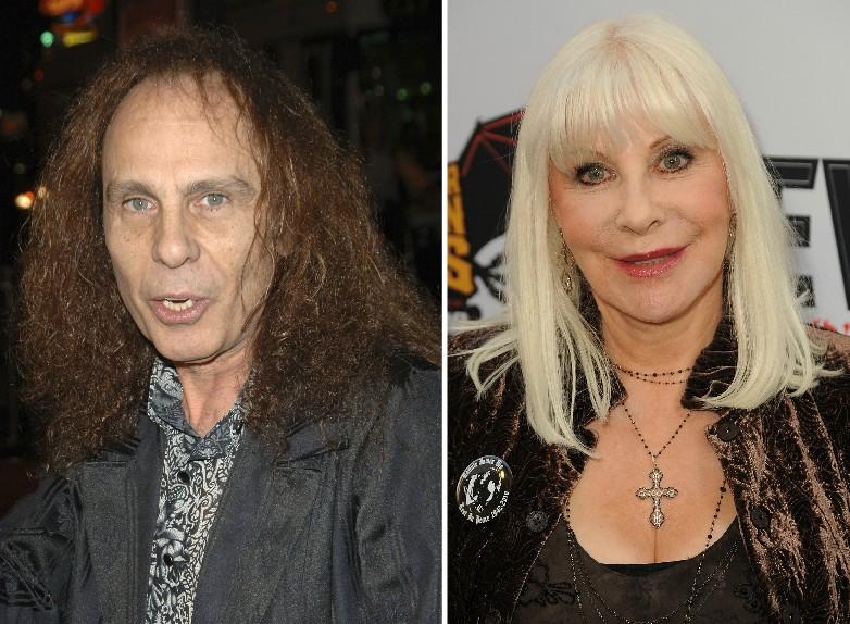 O músico Ronnie James Dio e sua viúva Wendy Dio (Foto: Getty Images)