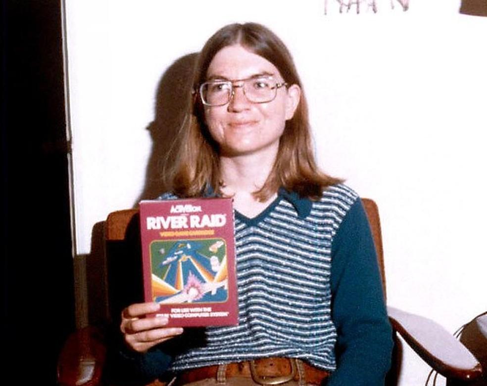 Carol Shaw foi game designer do sucesso Rive Raid, de 1982 — Foto: Reprodução/Carol Shaw