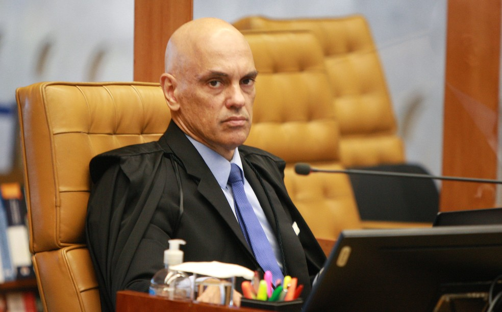 Ministro Alexandre de Moraes — Foto: Supremo Tribunal Federal