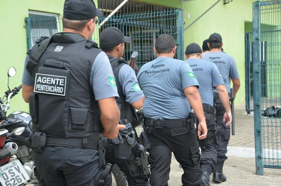 Agentes penitenciários terão salário de R$ 3,7 mil (Foto: Divulgação/Sejus)