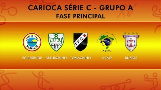 Série C do Carioca começa neste domingo com dois times do Sul do RJ na disputa