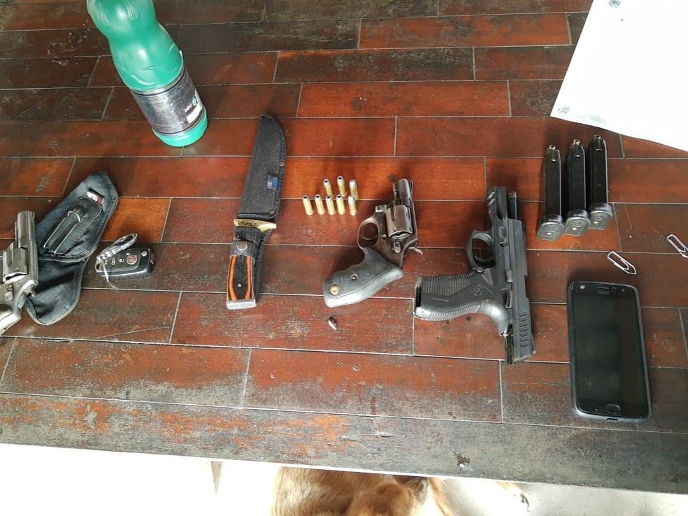 PF prende quatro pessoas suspeitas de participação em contrabando de cigarros no Maranhão — Foto: Divulgação/PF-MA