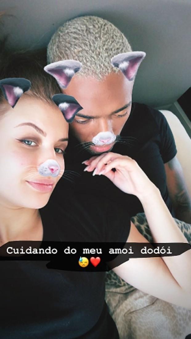Nego do Borel e  Julai Schiavi (Foto: Reprodução/Instagram)