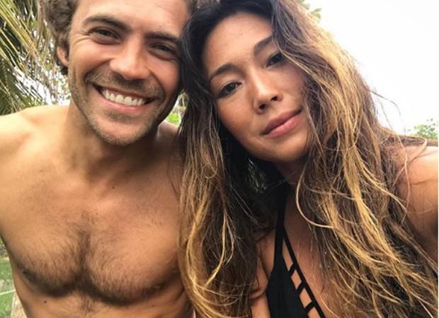 Fernando Roncato e Danni Suzuki (Foto: Reprodução/Instagram)