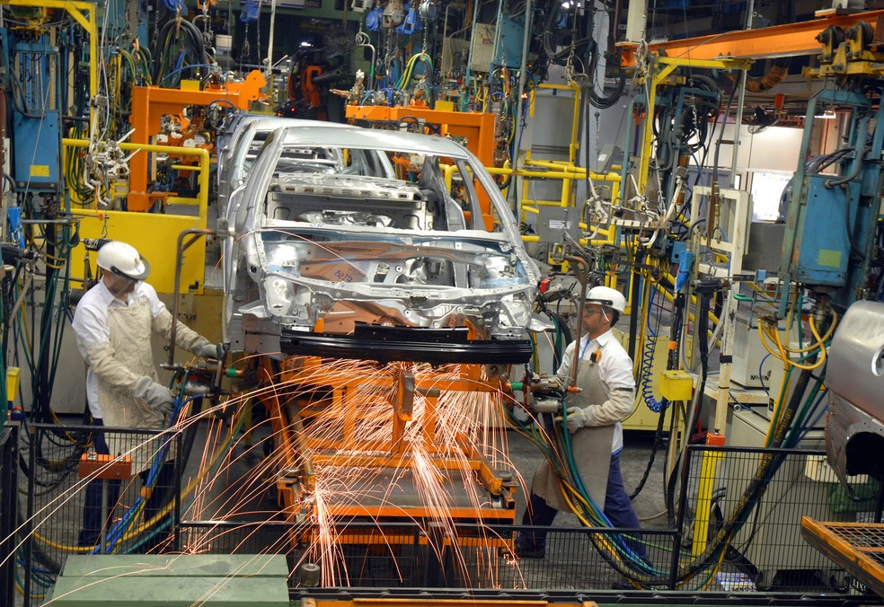 Fábrica da Chevrolet em São Caetano do Sul, SP — Foto: Divulgação