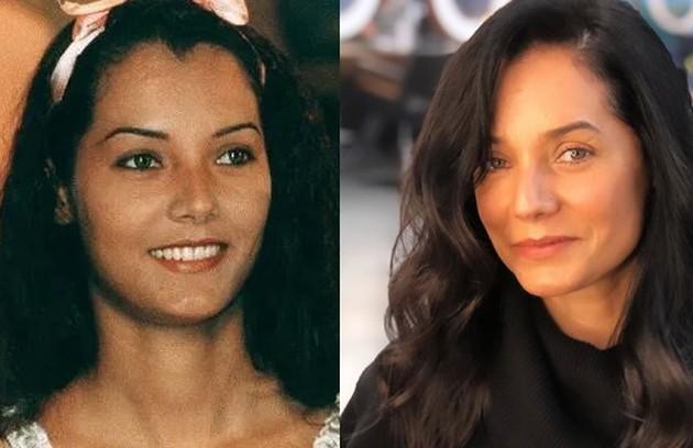 Monica Carvalho viveu Maribel, uma prostituta. A atriz está no ar na reprise de 'Fina estampa' (Foto: TV Globo / Reprodução)