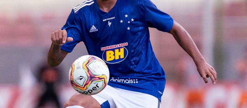 Camisa do Cruzeiro — Foto: Gustavo Aleixo/Cruzeiro