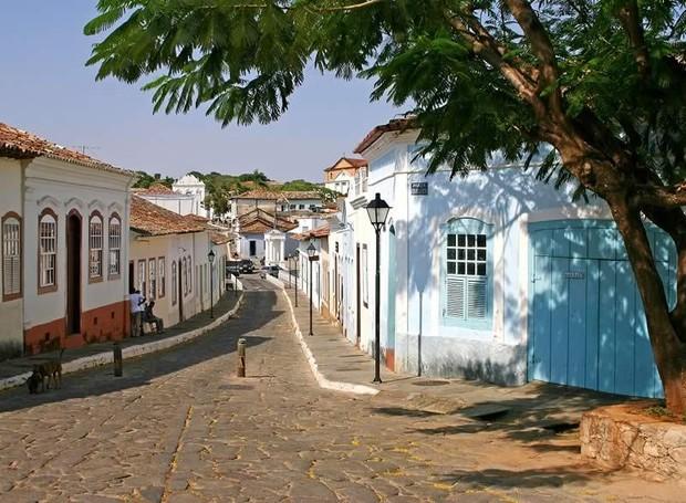 Goiás possui traços de uma arquitetura barroca menos ornamentada (Foto: Wagner Araújo e IPHAN/ Reprodução)