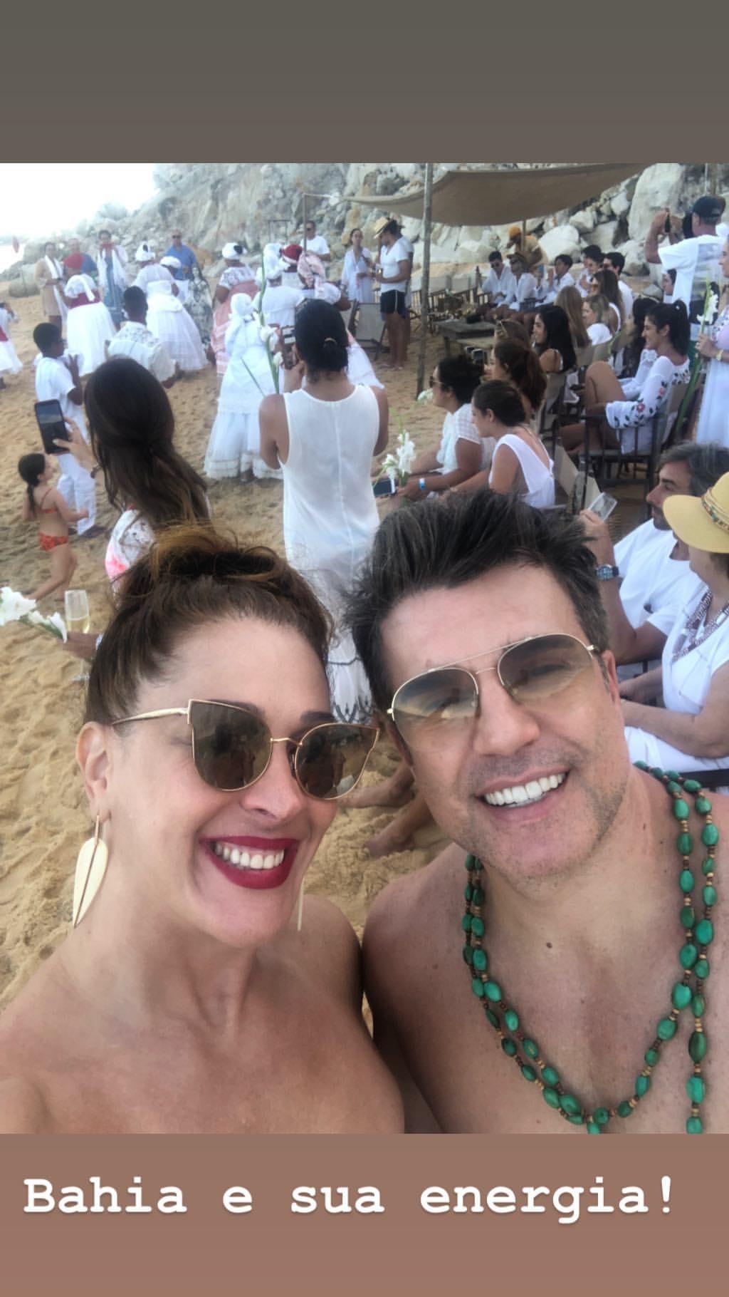 Claudia Raia e Jarbas Homem de Mello (Foto: Reprodução)