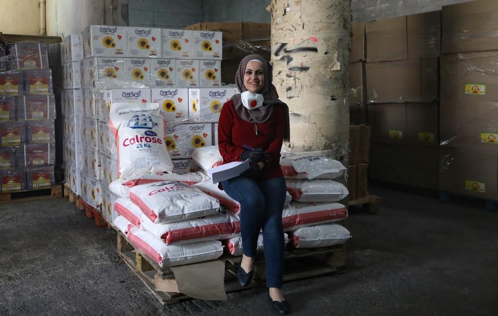palestnian health virus mayday photo essay 000 1qr9ix hazem bader afp - The Definition of an Essential Worker
