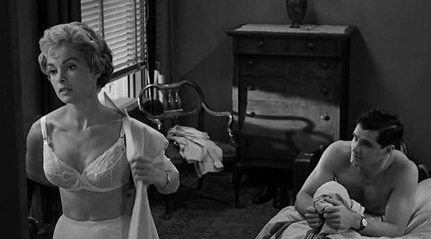 John Gavin e Janet Leigh em cena de Psicose (1960) (Foto: Reprodução)