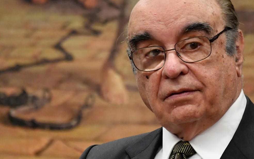 O deputado Bonifácio de Andrada (PSDB-MG), relator da denúncia contra Temer na CCJ (Foto: Mateus Bonomi/Agif/Estadão Conteúdo)