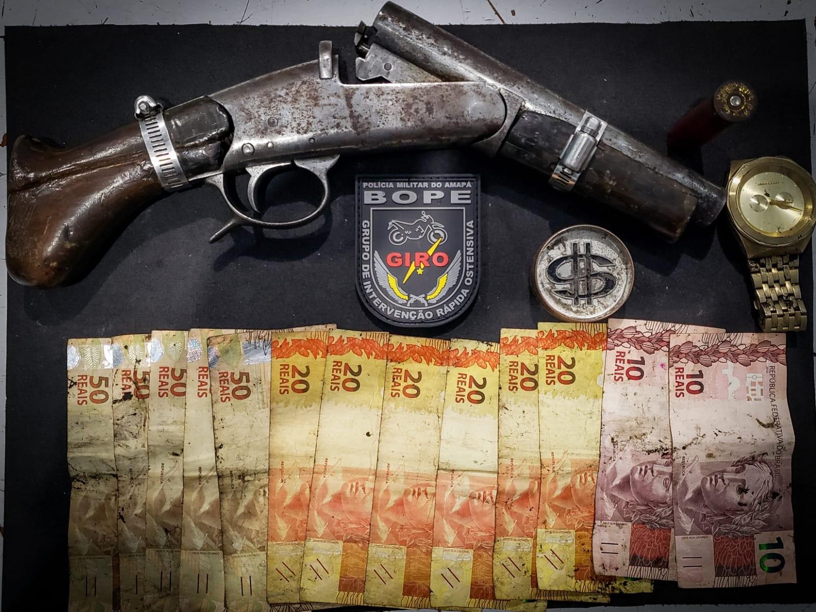 Membro de facção criminosa morre em troca de tiros com o Bope em periferia de Macapá